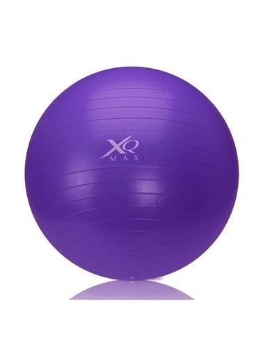 Xq Max Xq Max 75 cm Logo Baskılı Pilates Topu Mor
